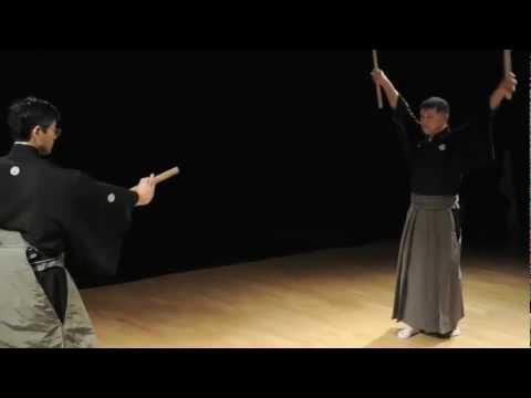 Hyoho Niten Ichi Ryu Kenjutsu, Paris, March 25th, 2011, English