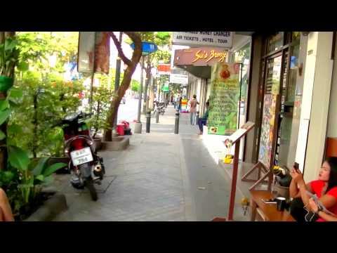 2017 曼谷自由行 - Silom Road 上酒店步行往 BTS Chong Nonsi 空鐵站 ช่องนนทรี