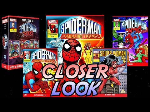 Closer Look - 80's Spider Man Animated Series UK DVDs