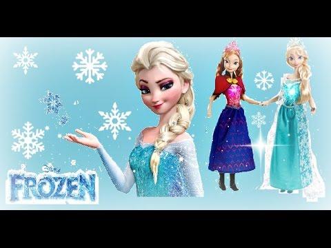 Frozen Musical Magic Elsa Anna Dolls
