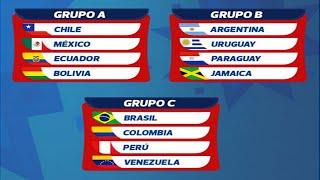 Sorteo Copa America 2015 Completo - Copa America Chile 2015 - HD