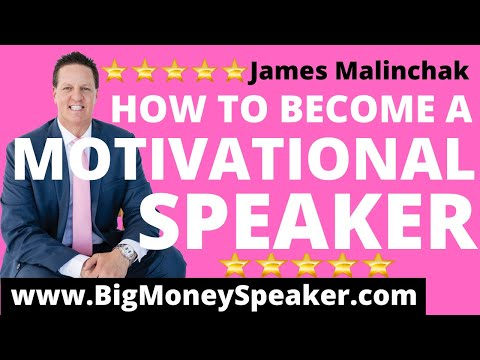 Brian Tracy Shows How to Become a Motivational Speaker