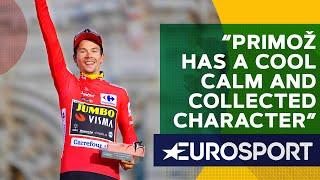 Bradley Wiggins on Primoz Roglic's Ski Jumping Mindset | The Bradley Wiggins Show | Eurosport