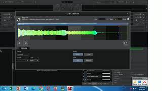 adjustusting sampler volume screenshot 4