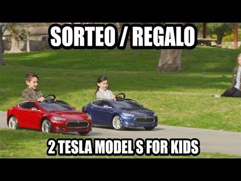 SORTEO/REGALO TESLA Model S for kids (Radio Flyer)