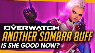 Overwatch | New Sombra Buff INCOMING - Is She Good Now?