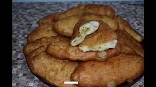 Все просто обожают когда я их готовлю/Пирожки с картошкой на дрожжевом тесте во фритюре/