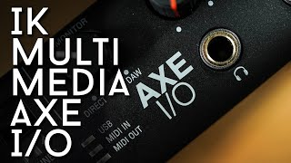 Made for us! The AXE I/O interface from IK Multimedia