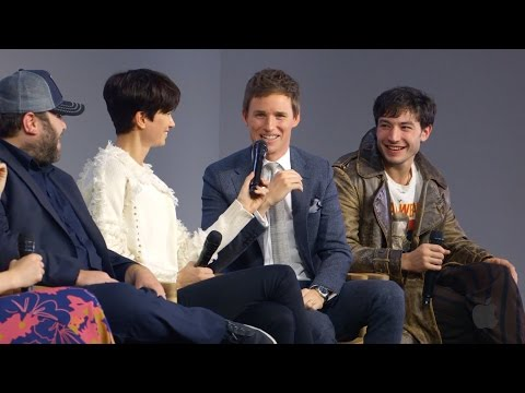 Fantastic Beasts and Where to Find Them Cast Interview with Eddie Redmayne, Ezra Miller