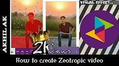 HOW TO SAVE ZEOTROPIC VIDEO WITHOUT LOGO | ZEOTROPIC MOD APK