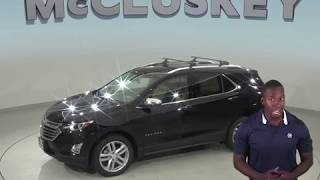 190466 New 2019 Chevrolet Equinox Premier AWD Black SUV Test Drive, Review, For Sale -