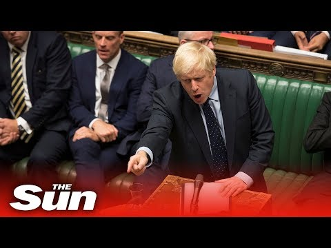 'It's time to get Brexit DONE!' Boris Johnson returns to parliament