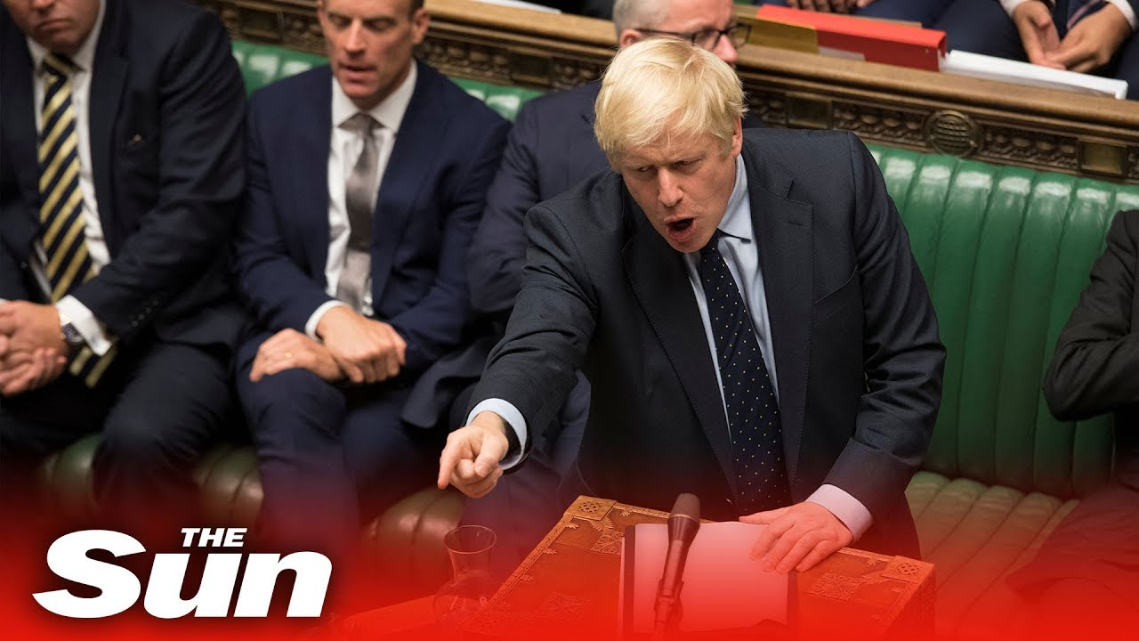 what time is boris johnson speech today