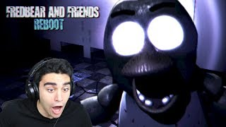 CHICA IS AFTER ME IN THIS NEW FREE ROAM STORY MODE! - Fredbear and Friends: Reboot (Extended Demo)