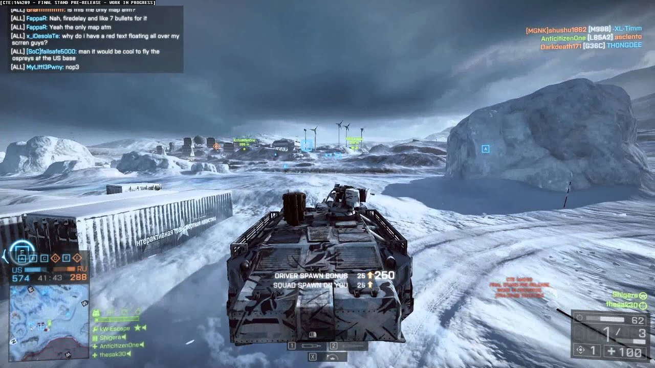 Battlefield 4 - Final Stand - HT-95 Hovertank-Gameplay - YouTube