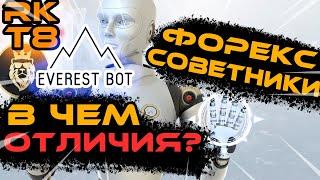 Форекс советники Everestbot, RKT8 Forex 1.0, Wall Street Bot - в чём разница