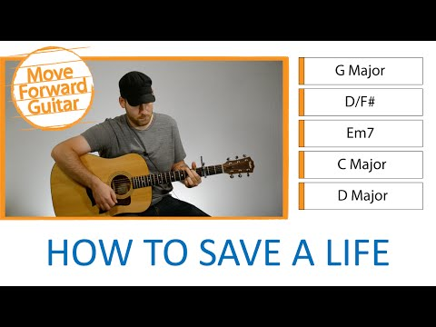 Easy Guitar Songs For Beginners - How To Save A Life - The Fray