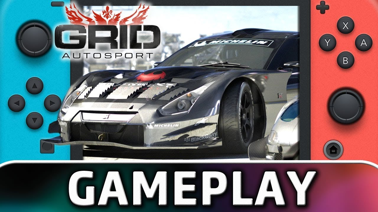 GRID Autosport | 15 Minutes of Gameplay on Nintendo Switch