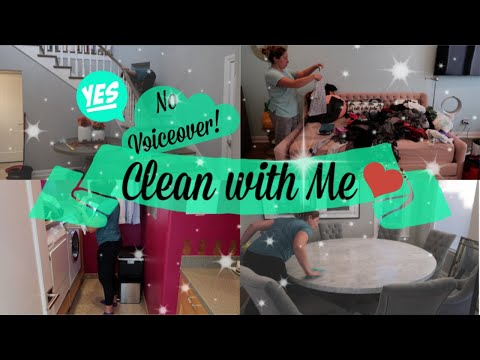 CLEAN WITH ME 2018   CLEANING MOTIVATION   NO VOICEOVER