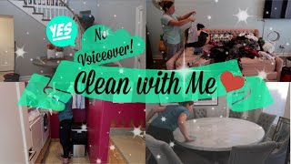 CLEAN WITH ME 2018 | CLEANING MOTIVATION | NO VOICEOVER
