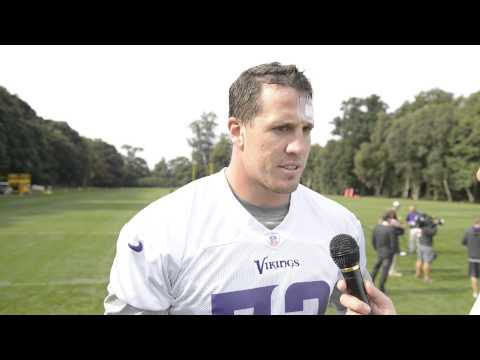 Chad Greenway Sporting NFL