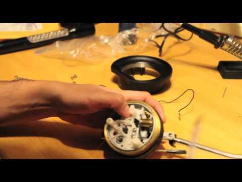 Technics Tuneup Part VII: Tonearm Internal Assembly