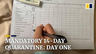 Day one: Mandatory quarantine life in Hong Kong