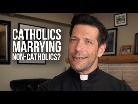 Can a Catholic Marry a Non-Catholic?