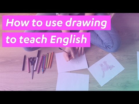How to use drawing to teach English - #2