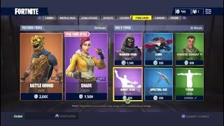 Fortnite Item Shop For 10/17, And How I feel About OG Skins bein re-released.