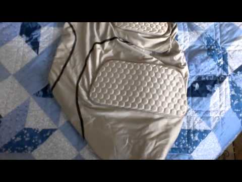 Riddell Power 5 pad shirt review - YouTube 4c9a62716