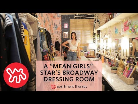 Mean Girls on Broadway Dressing Room Tour | Apartment Therapy