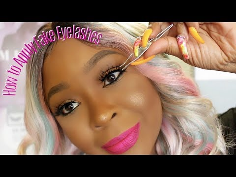 YA'LL DOING THE MOST WITH THESE LASHES! HOW TO APPLY, TOOLS, GLUE  & STYLES| VERY DETAILED thumbnail