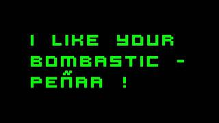 I like your bombastic - Jessy Matador ft. Peñaa !