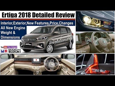 Ertiga 2018 India Review | New Ertiga 2018 Interior,Exterior,Features and Price | 2018 Maruti Ertiga