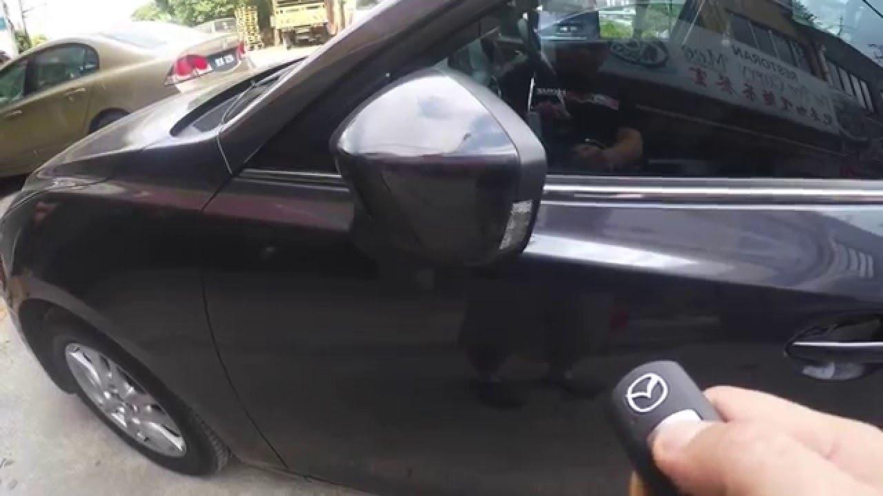 Mazda 3 Doors >> Mazda 3 - Side mirror auto fold + brake lock (Plug & Play ...