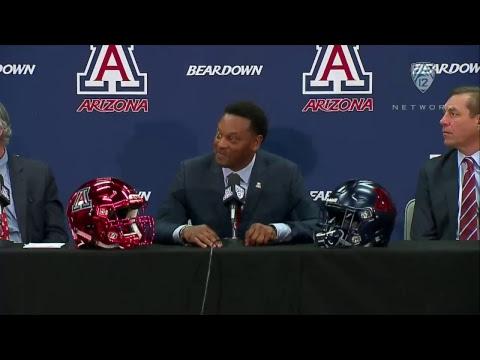 Arizona football introduces head coach Kevin Sumlin