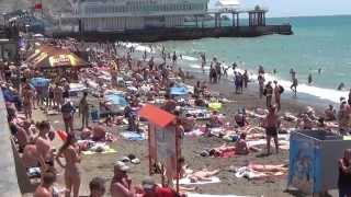 Лучший клип о Судаке пляж 2015  Крым.