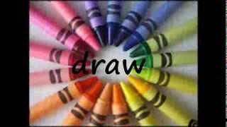 talk draw write