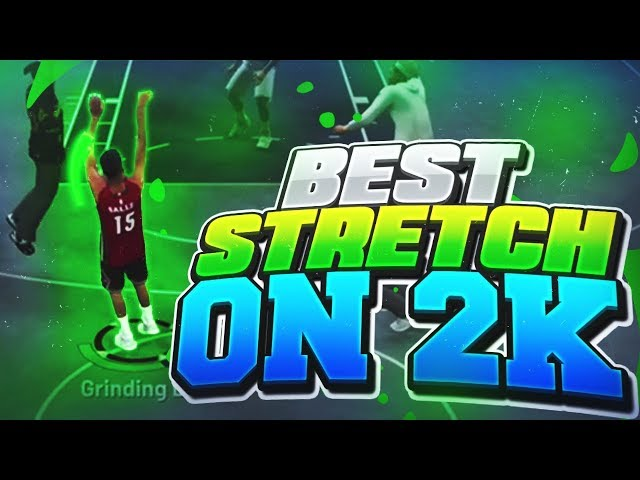GREENS FROM HALFCOURT WITH A STRETCH BIG!! BEST STRETCH BIG BUILD & BEST JUMPSHOT ON NBA 2K19!!