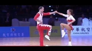 World Dance Sport Games 2013 - Rock