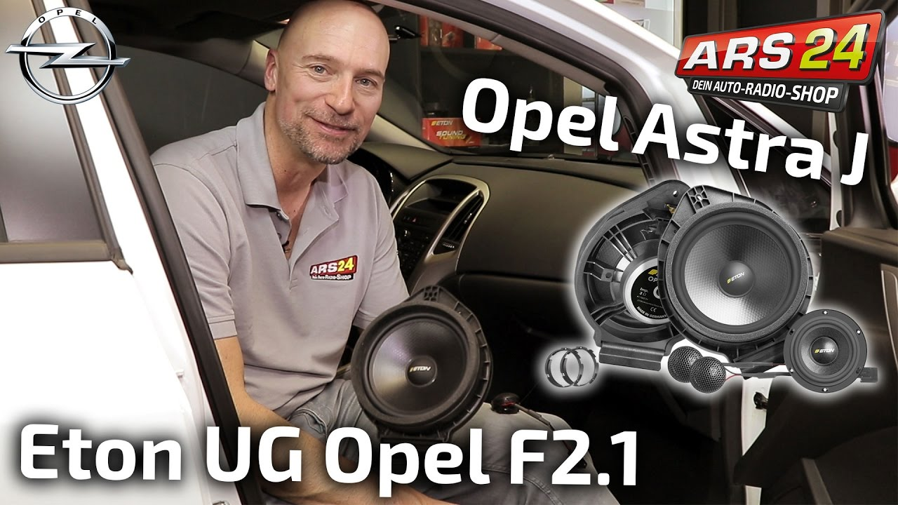 opel astra j lautsprecher nachr sten eton ugopelf2 1 tutorial ars24 youtube. Black Bedroom Furniture Sets. Home Design Ideas