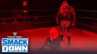 The Fiend attacks Alexa Bliss after Bayley vs Nikki Cross for Women's Title | FRIDAY NIGHT SMACKDOWN