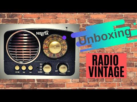 Radio Vintage Nisuta - UNBOXING