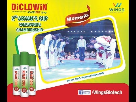 DiCLOWiN Presents 2nd Aryan's Cup Taekwondo Championship   DD Sports