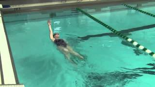 Potomac Marlins Backstroke Drill Progressions Video
