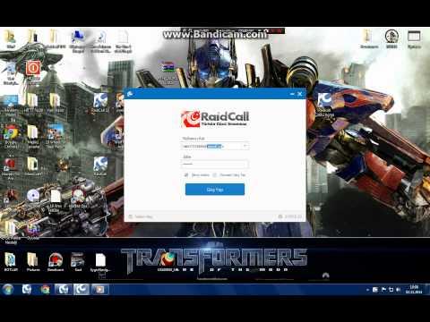 RaidCall Çoklu Açma
