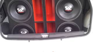 ULTRAVOX 650 + NOVA TARAMPS HD8000 TESTANDO CAIXAS NOVAS !!BY PRIME SOUND CAR