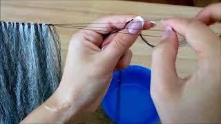 как сделать шиньон из натуральных волос своими руками