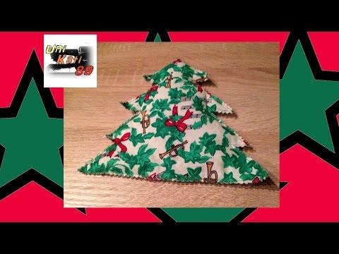 Tannenbaum Körnerkissen nähen Anleitung Schnittmuster selber erstellen Winter Weihnachten #UniKati89